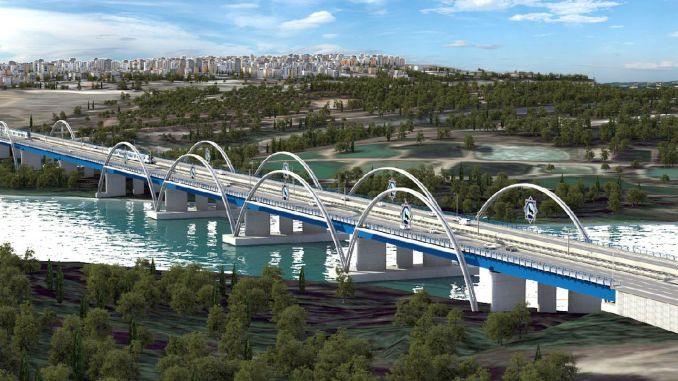 State Garden Bridge, Unfinished for Years in Adana, Goes to Tender