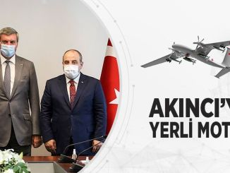 Work Continues to Localize the Akıncı Assault UAV Engine