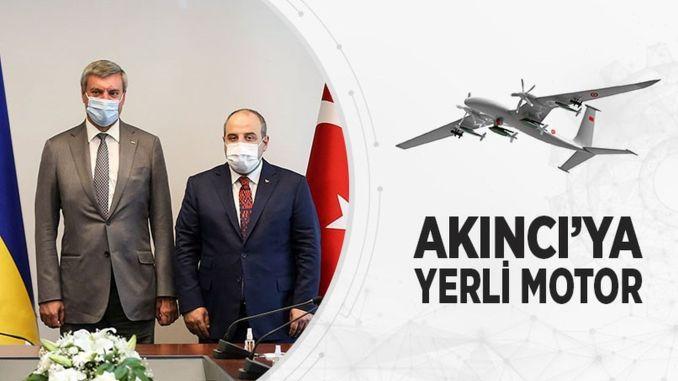 Work Continues to Localize the Akıncı Assault UAV Engine