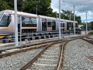 alstom dublin tram vehicle