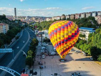 Vychutnávání balónů v Ankaře nezůstane létající kecioren