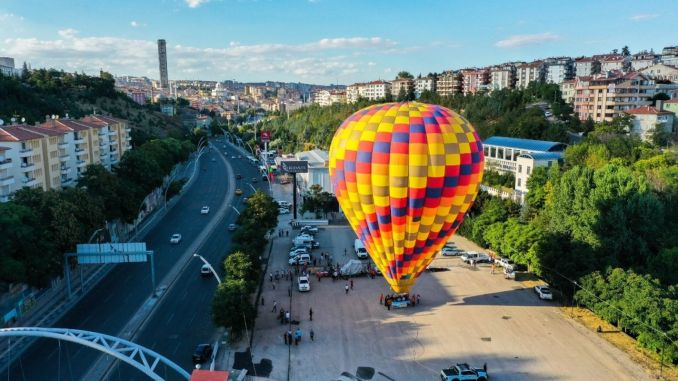 Balloon enjoyment in Ankara will not remain flying kecioren