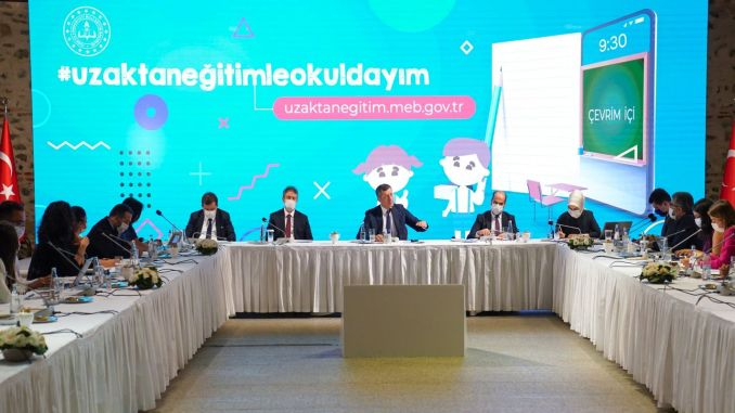 Minister Selçuk Evaluated Distance Education and New Education Year Preparations