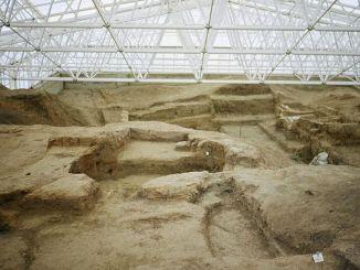Catalhoyuk neolithische antike Stadt, in der Catalhoyuk antike Stadt Geschichte und Geschichte