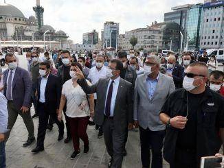Ekrem İmamoğlu Taksim nyomozta a Gezi Parkot!