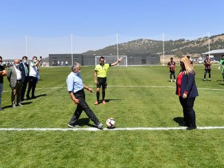 Erciyes高海拔營地中心的驕傲日