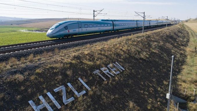 Halkali Kapikule will be put into service in the fast train project.