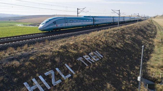 Ang Halkali Kapikule ay ilalagay sa serbisyo sa proyekto ng mabilis na tren.