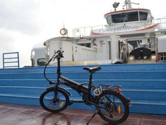 Hajók Izmirben 5 Kurus a kerékpárosok számára