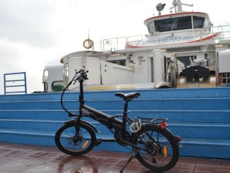 Ships in Izmir 5 Kurus for Cyclists