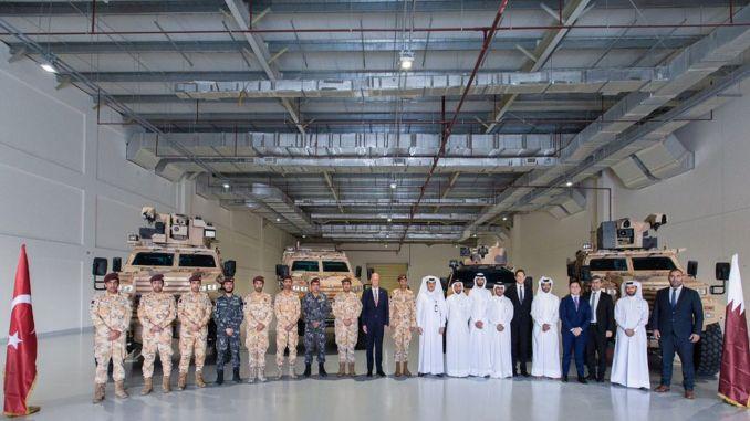 Katar yeniden Nurol Makina'dan zırhlı araç tedarik edecek