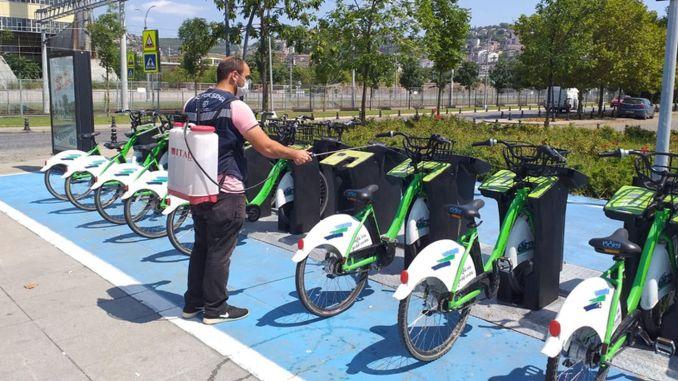 Τα ποδήλατα Kobis απολυμαίνονται τακτικά