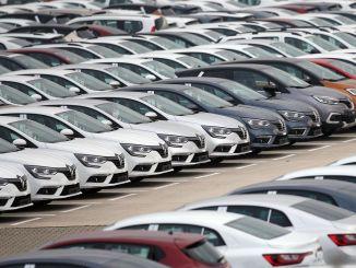 de auto-export werd in juli miljard dollar