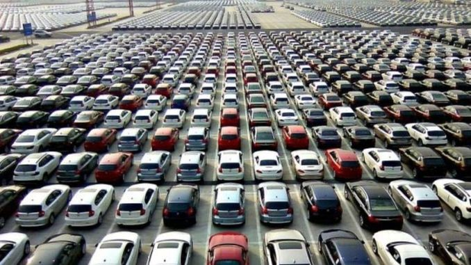 the automotive market grew by a percentage in july