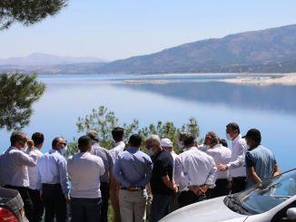 Terepmunka a Salda-tó körül