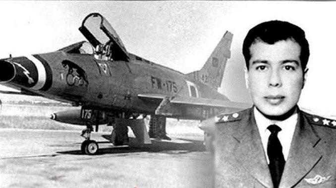 Who is martyr pilot yuzbasi cengiz topel