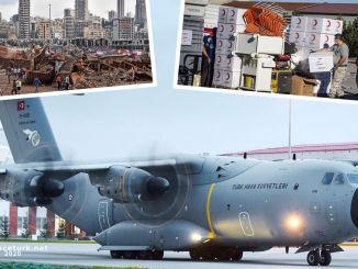 Persediaan bantuan yang diangkut oleh pesawat pengiriman am dari tskya mencapai Lubnia