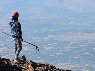 Erciyes first summit climb a mountain in Turkey has begun