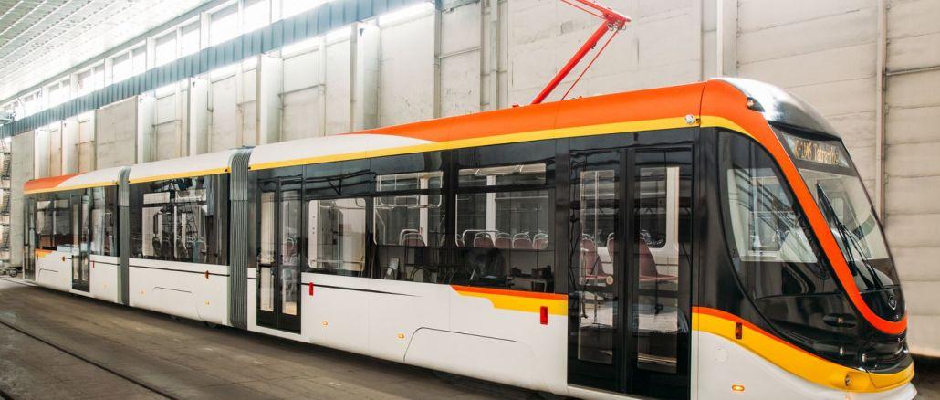 ukraynali sirketten romanyaya adet tramvay vagonu