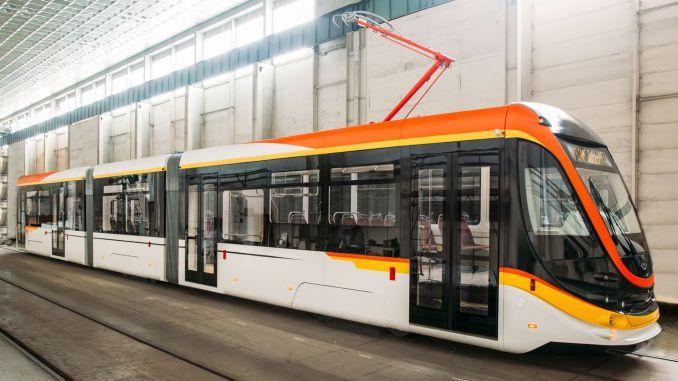 tram wagons from ukrainian company to romania