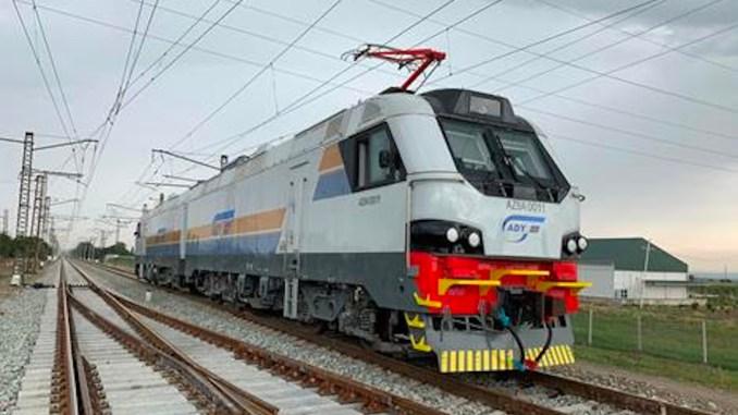 Alstom Starts Tests of Azerbaijan Freight Locomotives