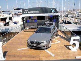 ny BMW-serie forankret i yalikavak marina i bodrum med fantastisk design