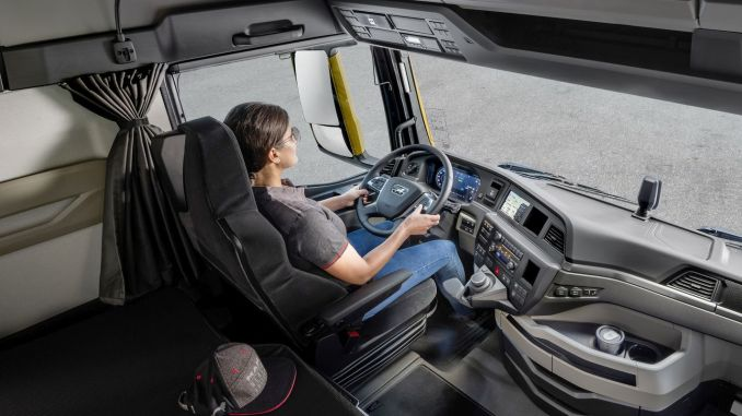 new generation man truck driver district wins red dot award