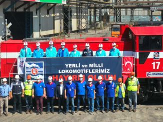 Domače in državne lokomotive so začele delati v KARDEMİR