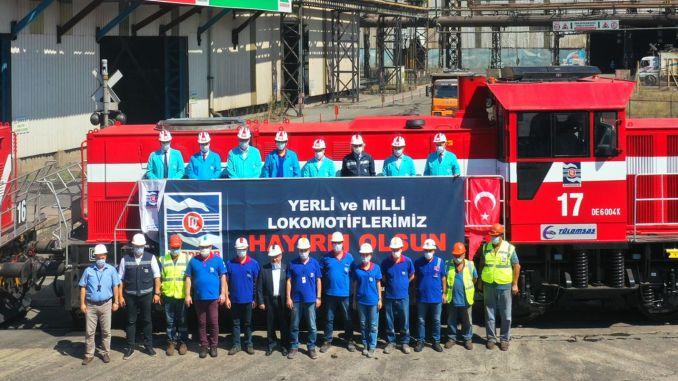 Indenlandske og nationale lokomotiver begyndte at arbejde i KARDEMİR
