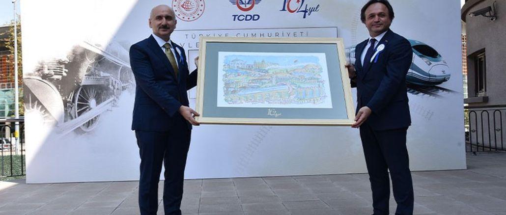 Bakan Karaismailoğlu, TCDD'nin 164. Yıl Kutlama Programına Katıldı