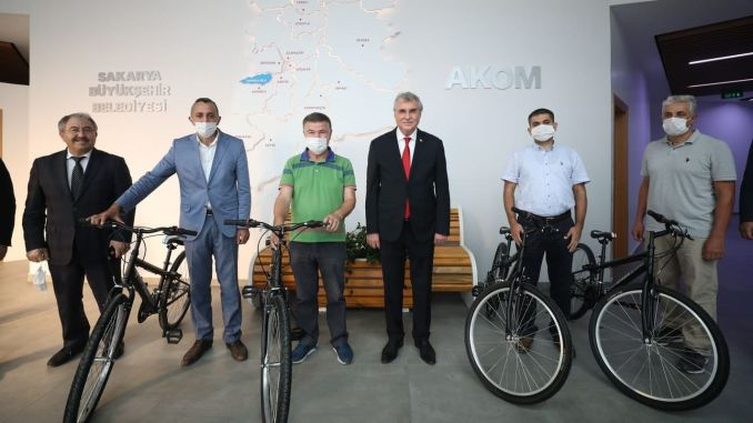 Sakarya Goes to Business by Bicycle Awards Reached Their Owners