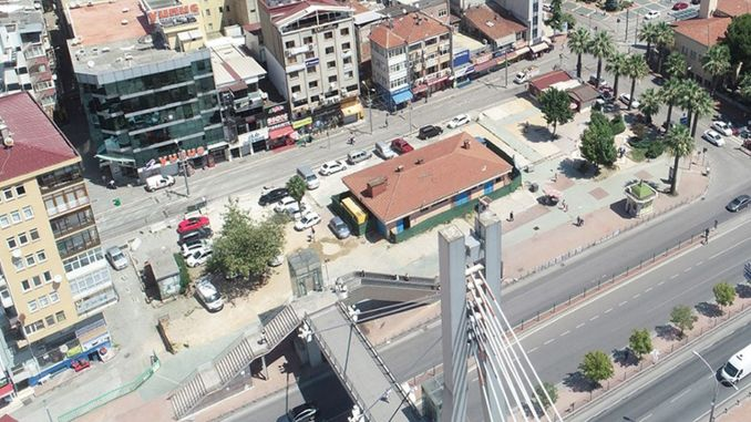 Adnan Menderes Overpass Escalator 10 Days Closed
