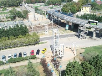 Three Overpasses to Akçaray Tram Route