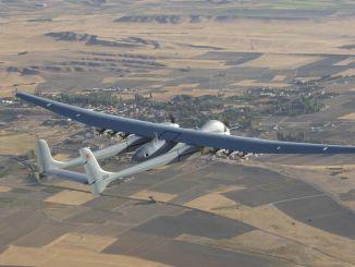 اکسانگور یو اے وی نے 12 میزائلوں کے ساتھ 28 گھنٹوں کے لئے پرواز کی