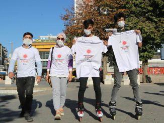 فعالية تيشيرت للتوعية بفيروس كورونا في أنقرة
