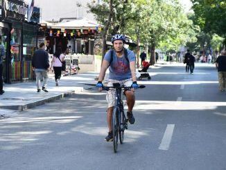 Oamenii din Ankara pedalează pentru emisii zero