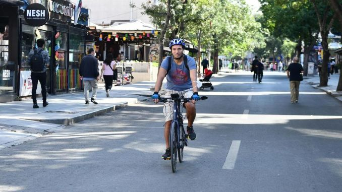 People of Ankara Pedal For Zero Emission