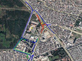 El cruce de la estación de autobuses de Antalya Boulevard estará cerrado al tráfico durante 7 meses