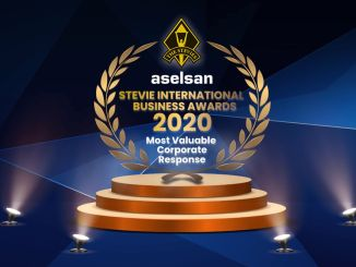 Global Award to ASELSAN from the Business World