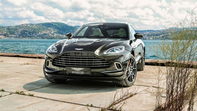 Aston Martin DBX first SUV in Turkey