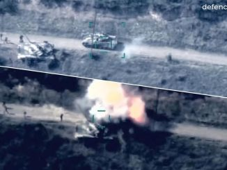 Azerbaijan Army Destroys 22 Tanks of Armenia