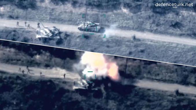 El ejército de Azerbaiyán destruyó 22 tanques de Armenia