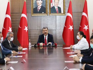 Minister Koca Met with Health Directors of 6 Provinces