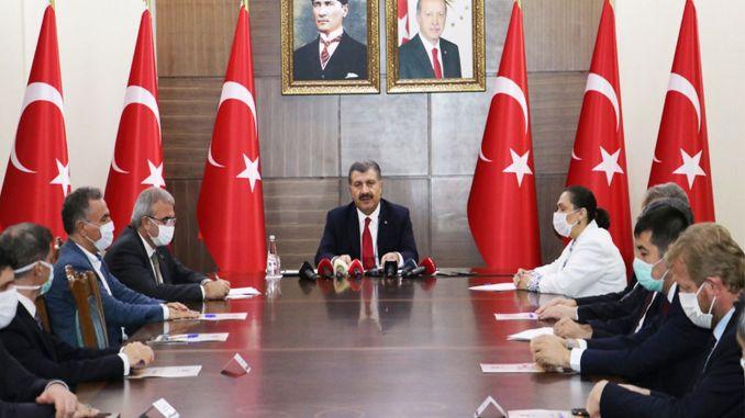 Minister Koca traf sich mit Gesundheitsdirektoren von 6 Provinzen