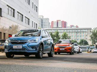 100 procent elektrische voertuigen in Beijing meer dan 350 duizend