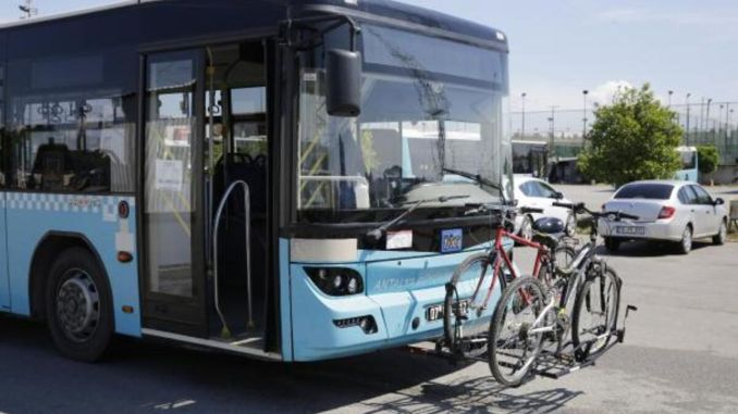 Alat Angkut Sepeda Memenangkan Antalya Metropolitan Award