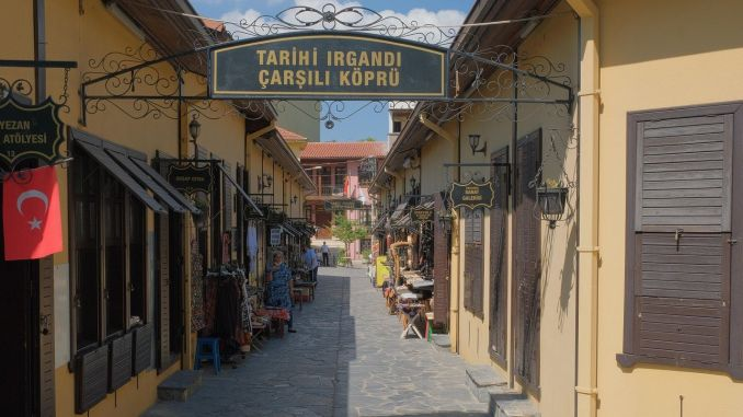 Tourismusvereinbarung für die Bursa Irgandı Brücke