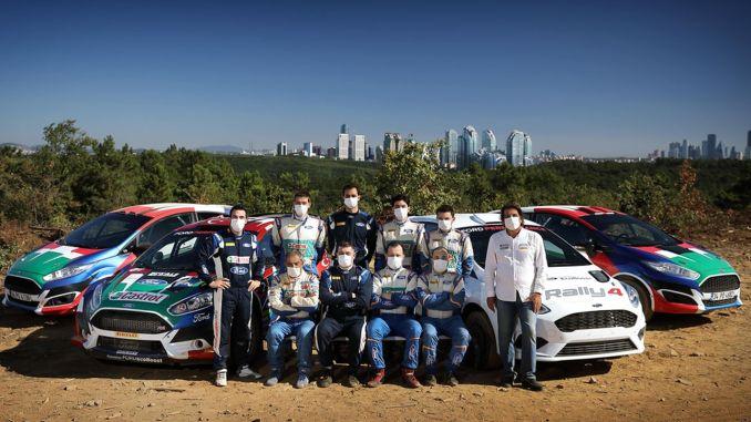 Castrol Ford Team Tyrkiet, afslutter forberedelsen til verdensmesterskabet i rally