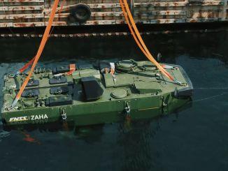 A tengerészgyalogság számára gyártott ZAHA tesztek sikeresen teljesítve