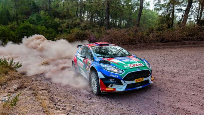 Castrol Ford Team Turkey, Marmaris feet to the WRC Successfully Completes